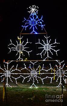 Snow Flake Tree by Kathleen Struckle