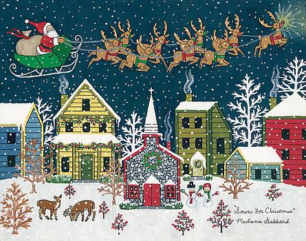Snow For Christmas by Medana Gabbard