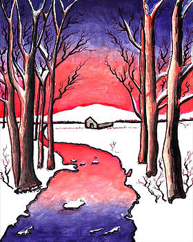 Snow house by Jak Sundar