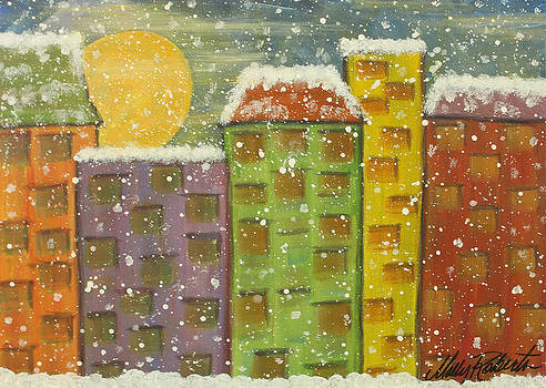 Snow in the City by Molly Roberts