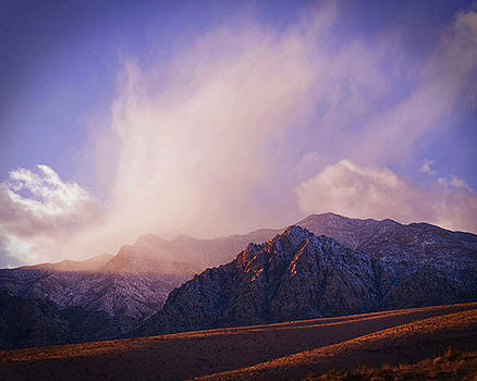 Snow in the Mountains by Ed Cooper