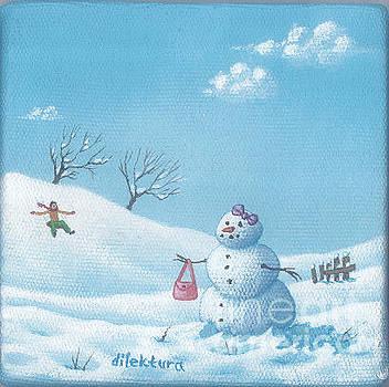 Snow Lady by Dilek Tura