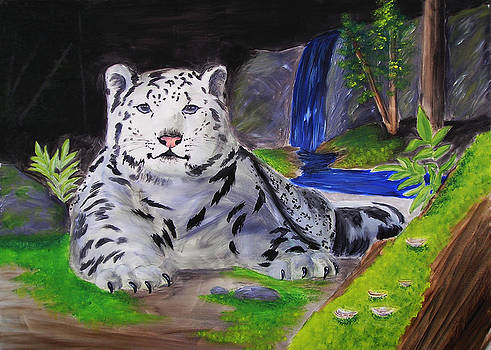 Jeanette K - Snow leopard