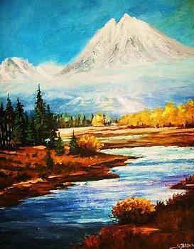 Snow White Peaks by Al Brown