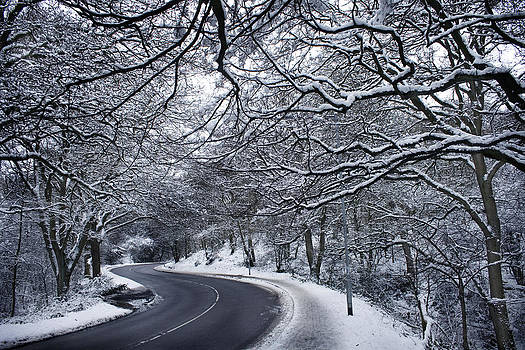 Snow wonderland England by Jordan Browning