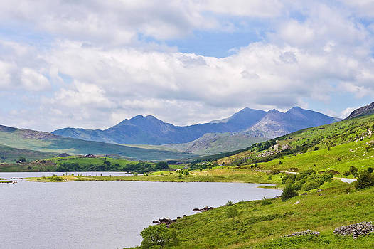 Snowdon from Dyffryn Mymbyr by Jane McIlroy