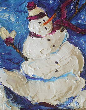 Snowman II by Paris Wyatt Llanso