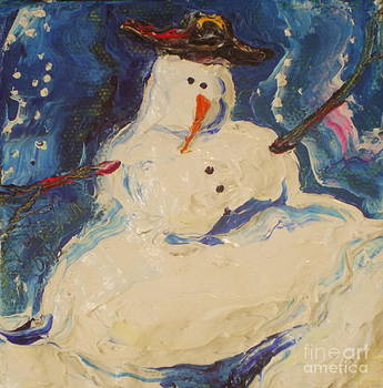 Snowman III by Paris Wyatt Llanso