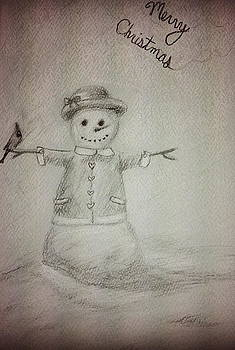 Snowman by Jessica Sanders