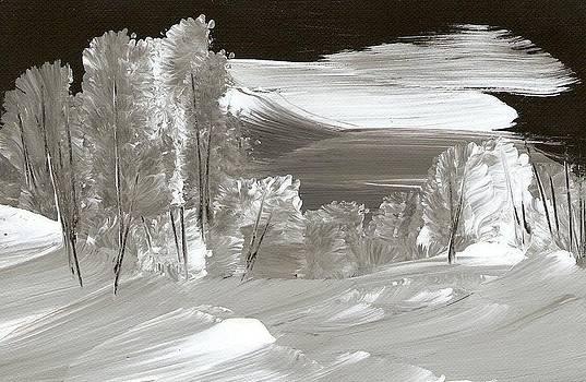 Snowy Christmas Eve by Ginger Lovellette