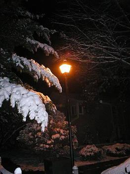 Snowy Night by Bess Yearsley