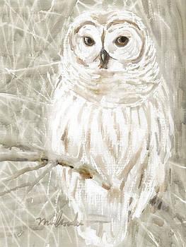 Snowy Owl by Linda Minkowski
