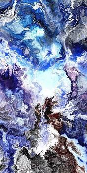 Snowy peak by Jury Onyxman
