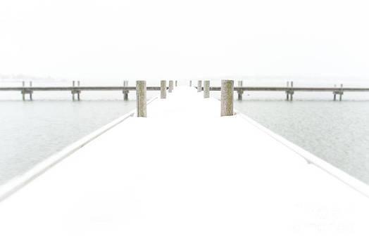 Sonja Quintero - Snowy Pier Winter Photo