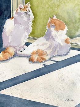 Soaking Up Some Rays by Marsha Elliott