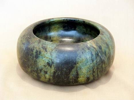 Soapstone Bowl Number Four by Jason Nelson