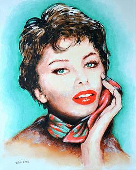 Sofia Loren by Victor Minca