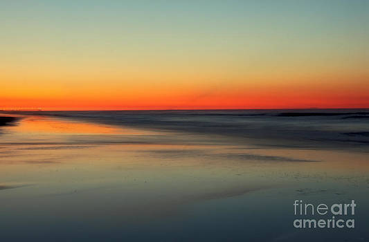 Soft Sunrise Myrtle Beach  by Jeff Breiman
