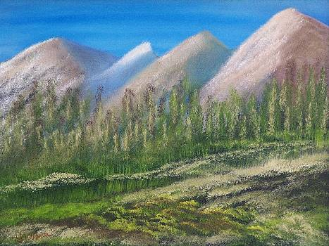 Soft Peaks by John Minarcik