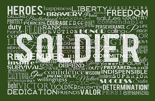 Soldier. by Angela  Bautista-Diaz