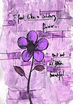 Solitary Flower by Mirko Gallery
