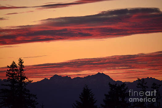 Solstice Sunset I by Gayle Swigart