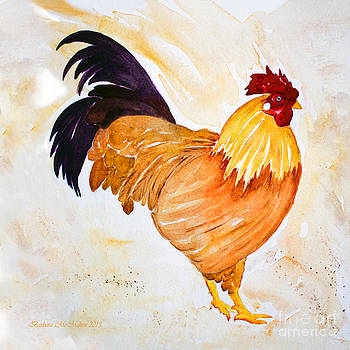 Barbara McMahon - Some Days You Have To Paint A Rooster