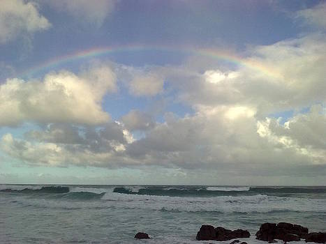 Somewhere over the rainbow by Jeannine Davidoff