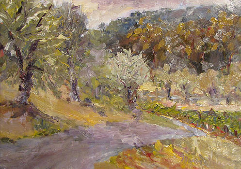 Sonoma Intersections II by Marcy Silveira