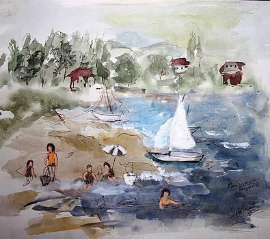 Sore Thumb Beach by Mary Spyridon Thompson