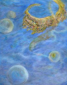 Soul's Flight in the Ocean of Time and Space by Jacquelyn Roberts