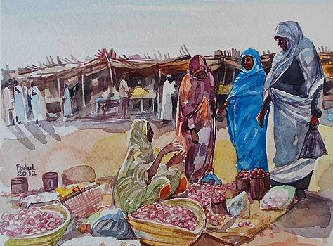 Souq Sabit by Mohamed Fadul