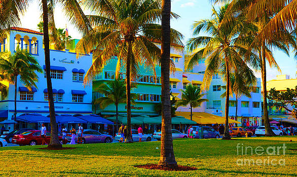 south Beach Afternoon by Dan Hilsenrath