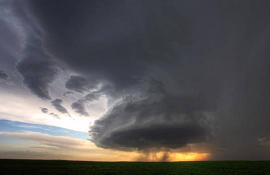 South Dakota Supercell by Chris  Allington