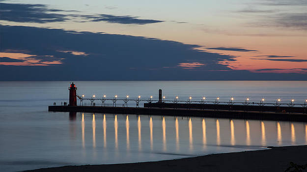 Adam Romanowicz - South Haven Michigan Lighthouse