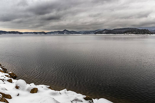 South Holston Snow by Jonathan Grim
