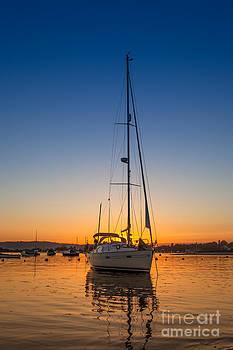 English Landscapes - Southerly Sunset