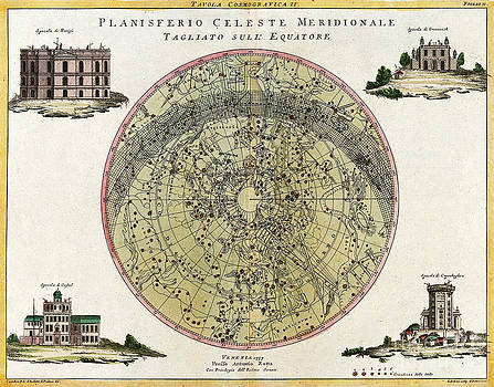 Wellcome Images - Southern Celestial Planisphere 1777