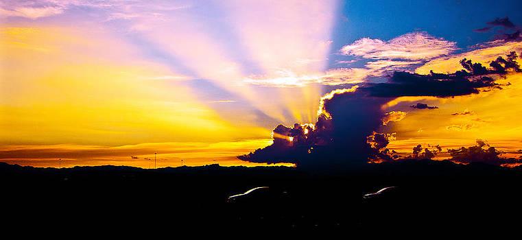 Southwest Las Vegas Sunset 3 by Arnold Despi