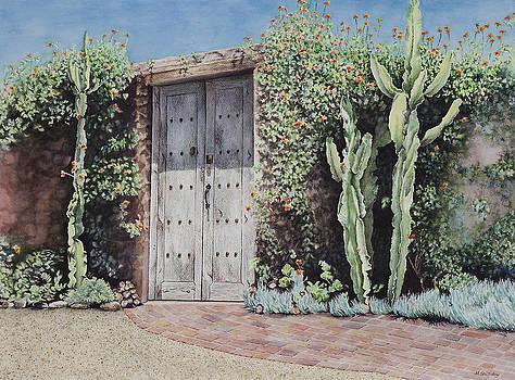Southwestern Doorway by Martha Shilliday