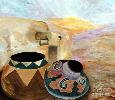 Southwestern Sunset by Graciela Castro