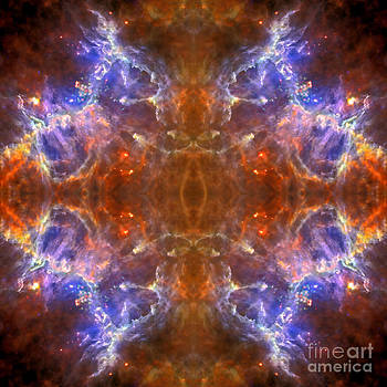 Space Lightening Abstract Space Art by Animated Sentiments