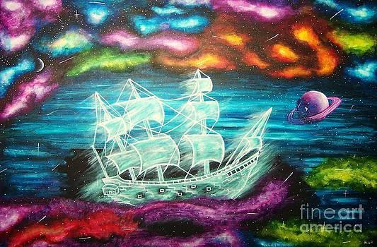 Space Ship by Kaila Hernandez