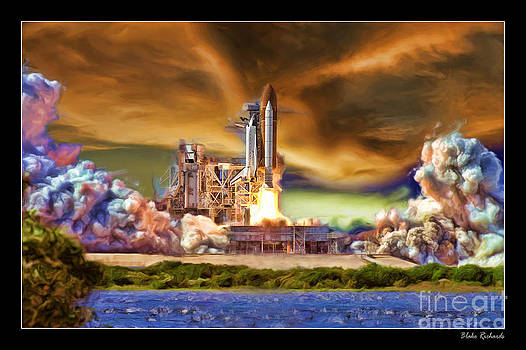Blake Richards - Space Shuttle Launch