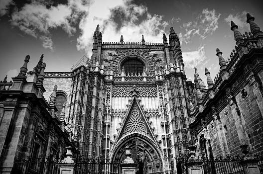 Spanish cathedral  by Alicia Morales