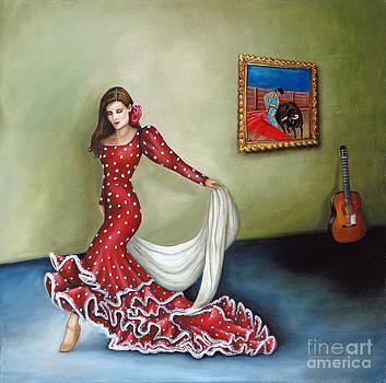 Spanish Dancer by Gretchen Matta