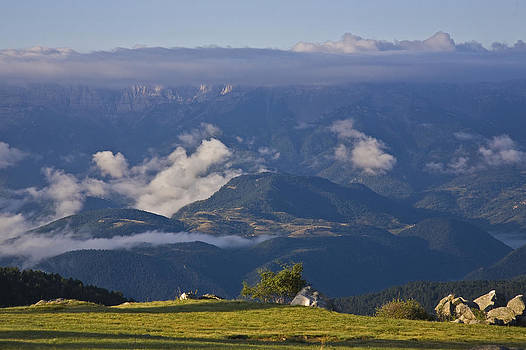 Spanish Pyrenees by Frits Selier