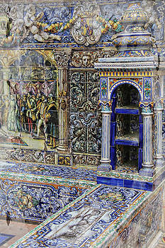 Spanish Tile by Robert Seidman