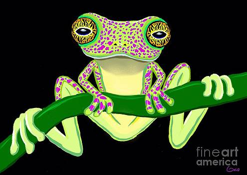 Nick Gustafson - Speckled Frog Hanging On