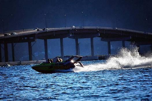 Speedboat Bridge by Don Mann